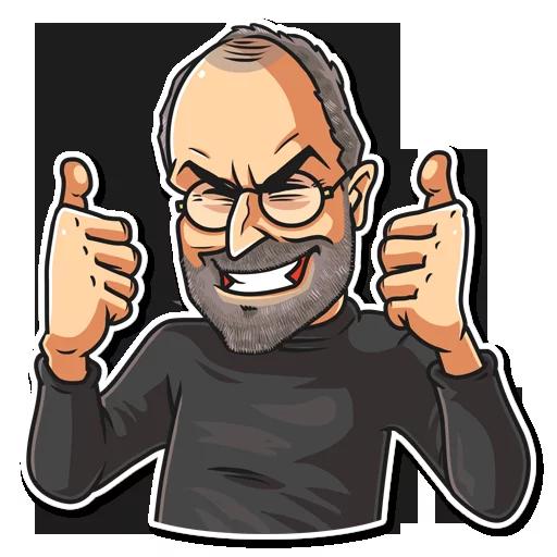SteveJobs 💛 - Sticker 3