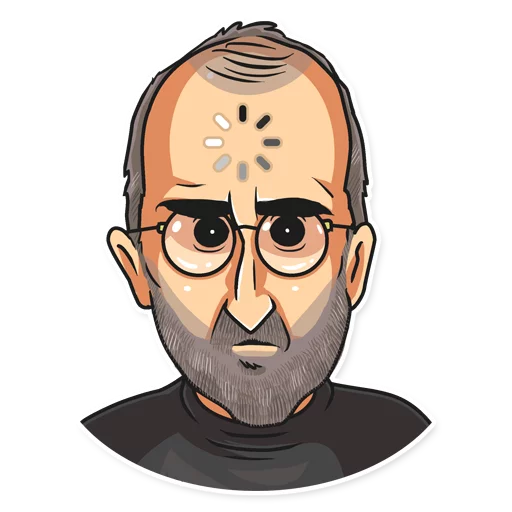 SteveJobs 💛 - Sticker 17