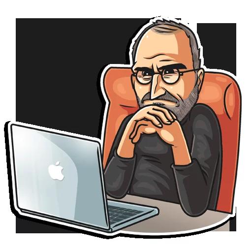 SteveJobs 💛 - Sticker 26