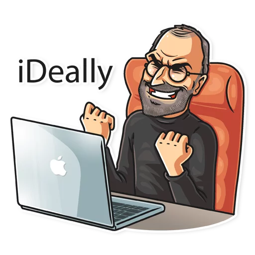 SteveJobs 💛 - Sticker 6