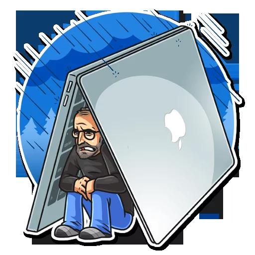 SteveJobs 💛 - Sticker 8