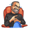 SteveJobs 💛 - Tray Sticker