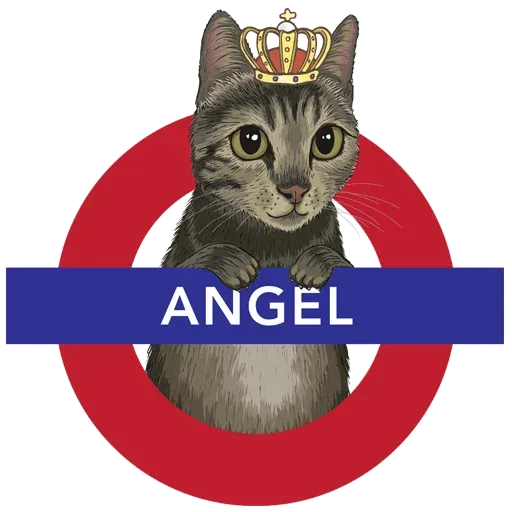 Angel the Meow - Sticker 5