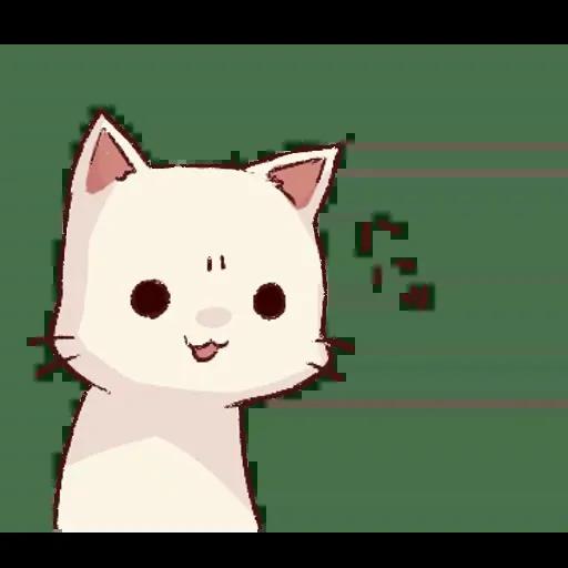 Frown cat 1 - Sticker 22