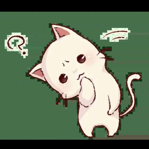 Frown cat 1 - Sticker 12