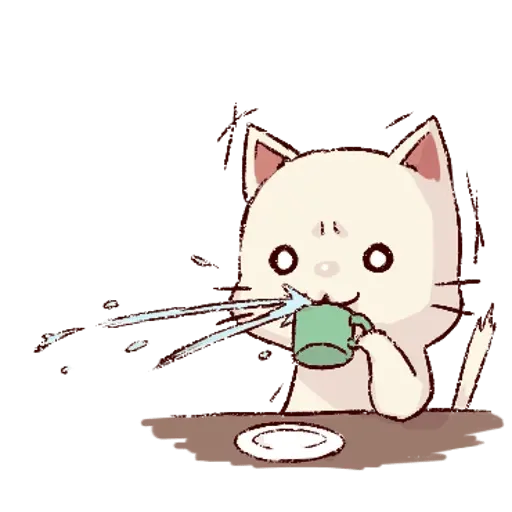 Frown cat 1 - Sticker 16