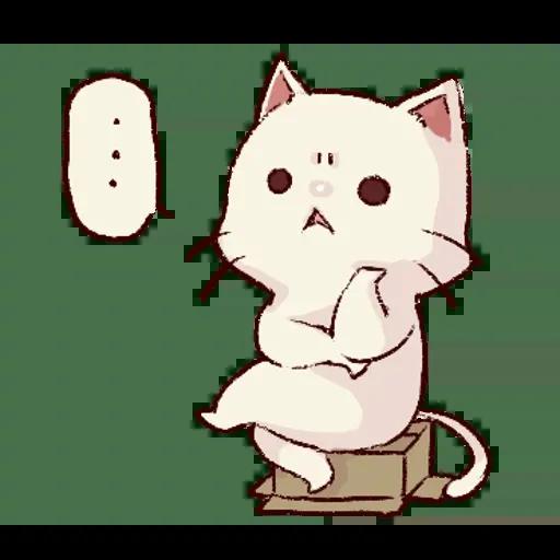 Frown cat 1 - Sticker 14