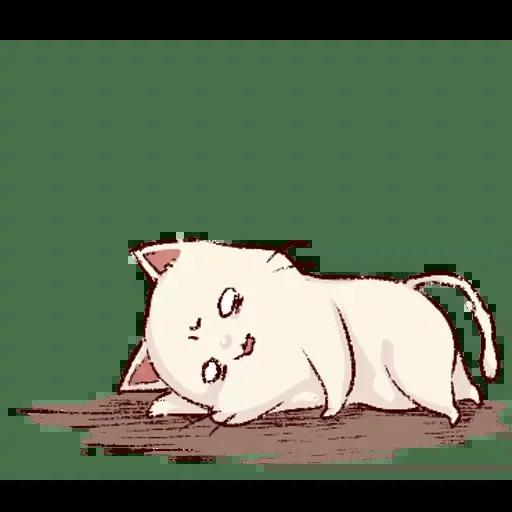 Frown cat 1 - Sticker 21