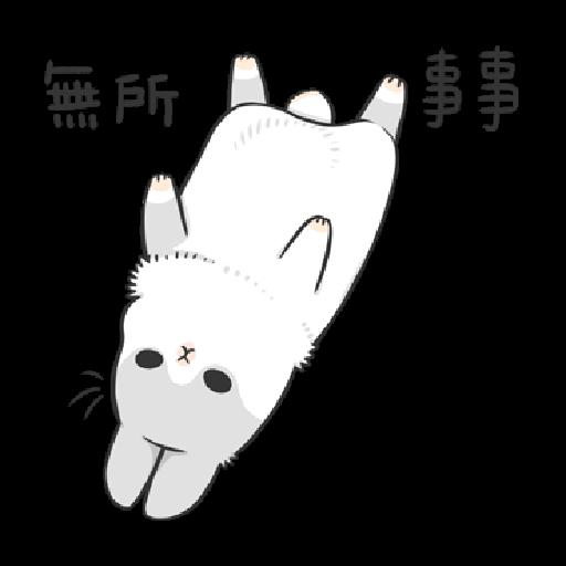 ㄇㄚˊ幾兔13  food, bye, relax - Sticker 22