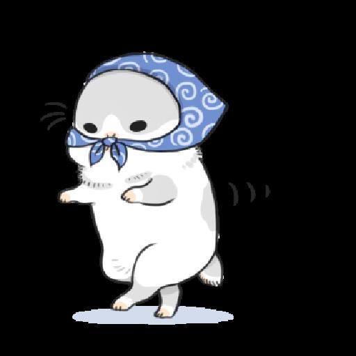 ㄇㄚˊ幾兔13  food, bye, relax - Sticker 11
