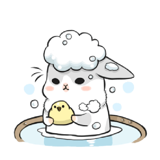 ㄇㄚˊ幾兔13  food, bye, relax - Sticker 20