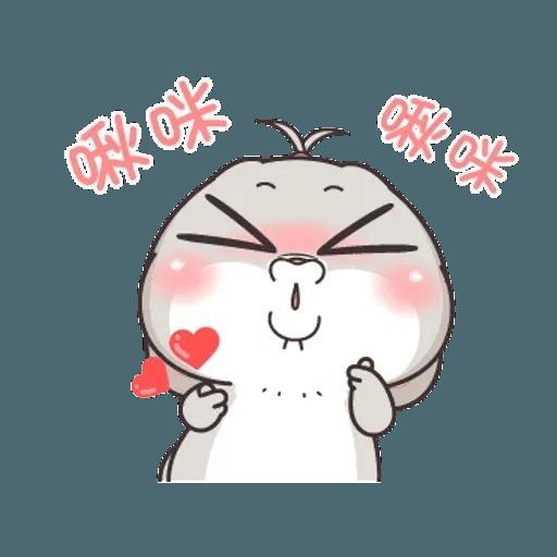 Cute Rabbit 5 - Sticker 11
