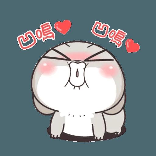 Cute Rabbit 5 - Sticker 17