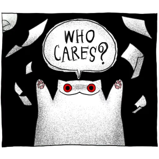 Gloomy Cat pt.2 - Sticker 10