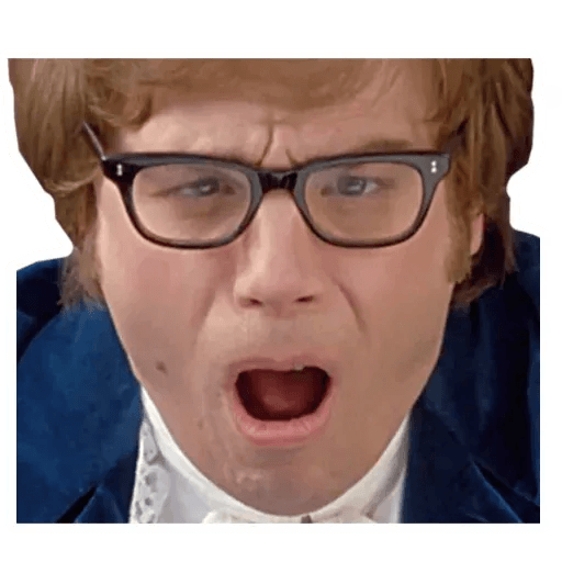 Austin Powers - Sticker 2