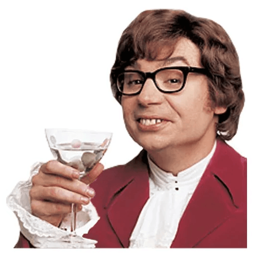 Austin Powers - Sticker 3
