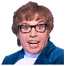 Austin Powers - Tray Sticker