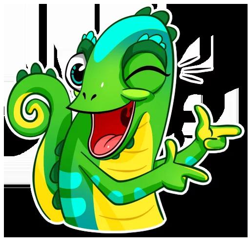 Chameleon - Sticker 20
