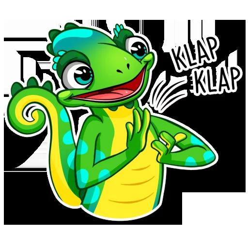 Chameleon - Sticker 19