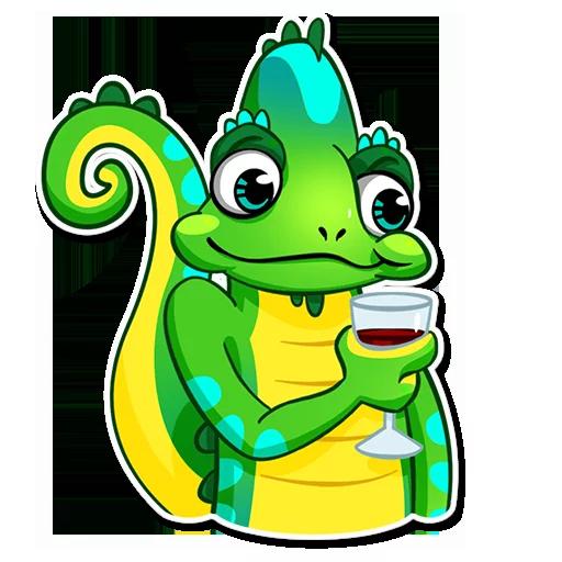 Chameleon - Sticker 14