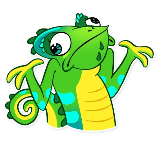 Chameleon - Sticker 1