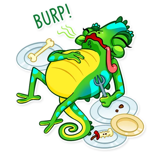 Chameleon - Sticker 17