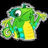 Chameleon - Tray Sticker