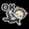 Let's Go Sadayuki! 動起來 - Tray Sticker