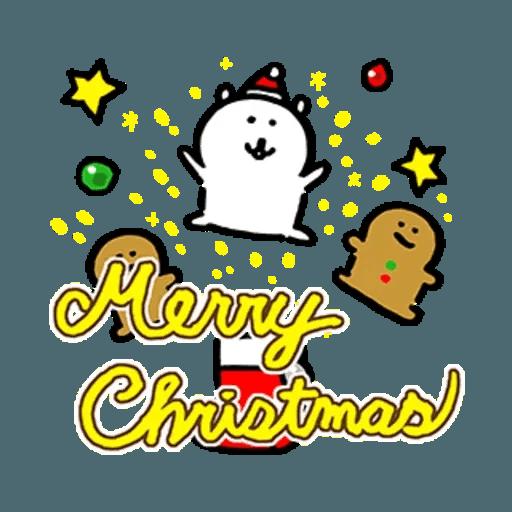 白熊23 - 聖誕 - Sticker 2