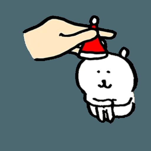 白熊23 - 聖誕 - Sticker 3