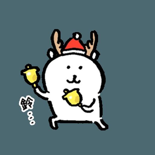 白熊23 - 聖誕 - Sticker 4