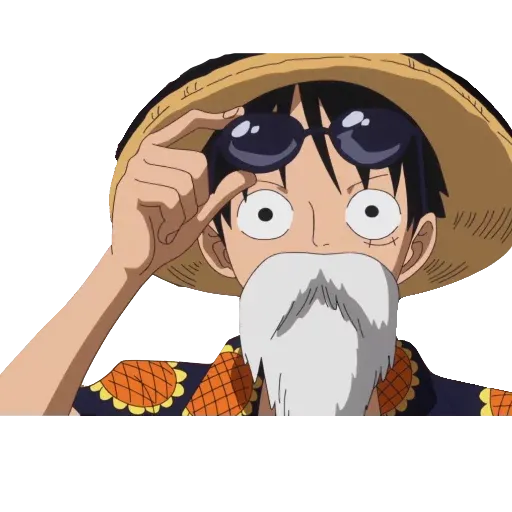 Luffy - Sticker 10