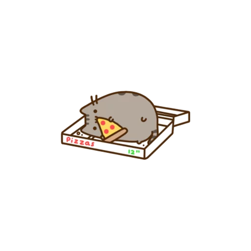 Pusheen - Sticker 25