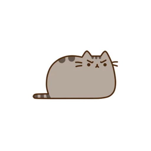 Pusheen - Tray Sticker