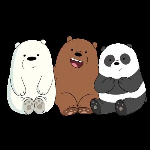 We Bear Bears - Sticker 4