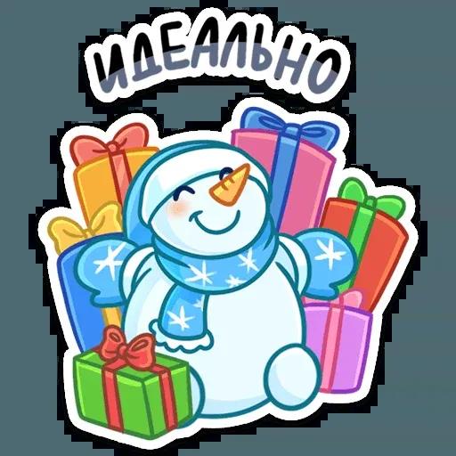 Snowman - Sticker 17