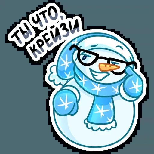 Snowman - Sticker 29