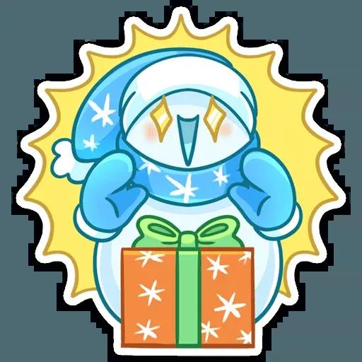 Snowman - Sticker 10