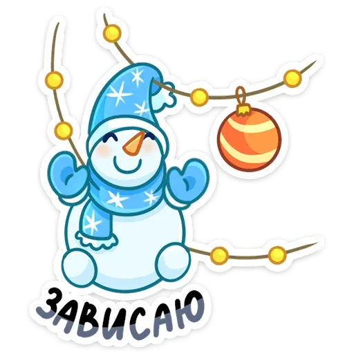 Snowman - Sticker 18