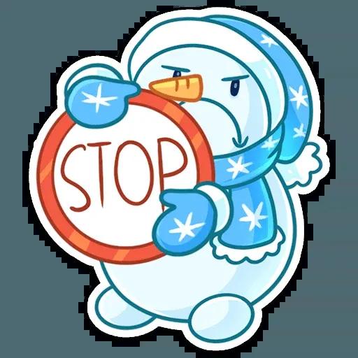 Snowman - Sticker 5