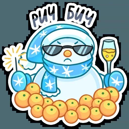 Snowman - Sticker 22