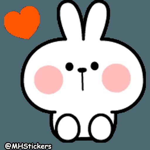 Spoiled rabbit ♥️ - Sticker 1