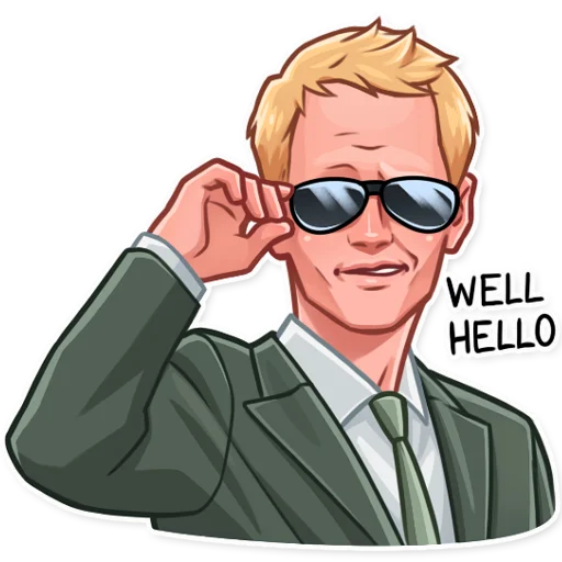Barney Stinson - Sticker 5