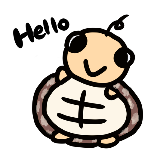 Momo the turtle - Tray Sticker