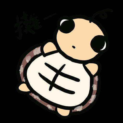 Momo the turtle - Sticker 9