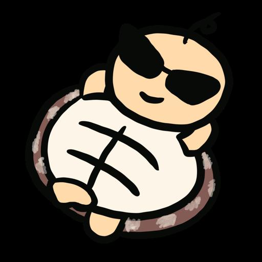 Momo the turtle - Sticker 18
