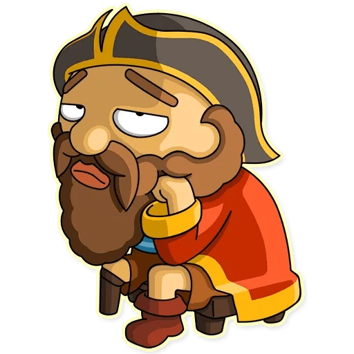 Captain Jack - Sticker 9