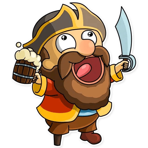 Captain Jack - Sticker 6