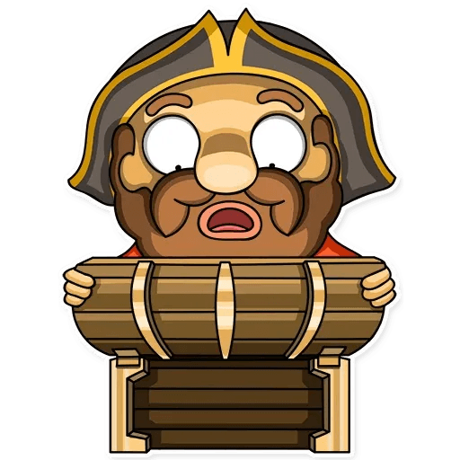 Captain Jack - Sticker 7