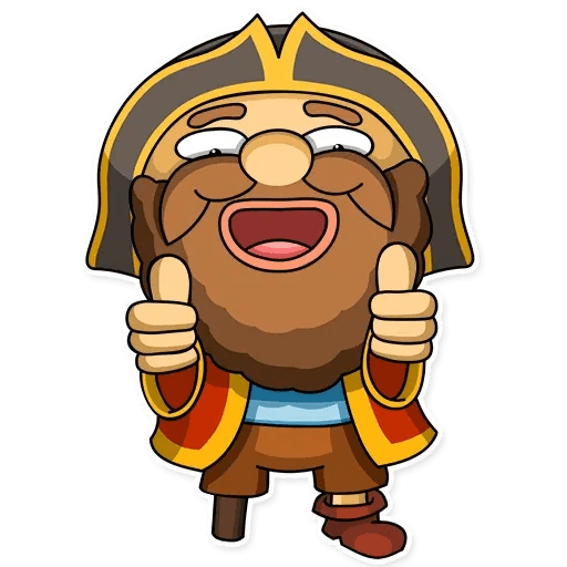 Captain Jack - Sticker 4